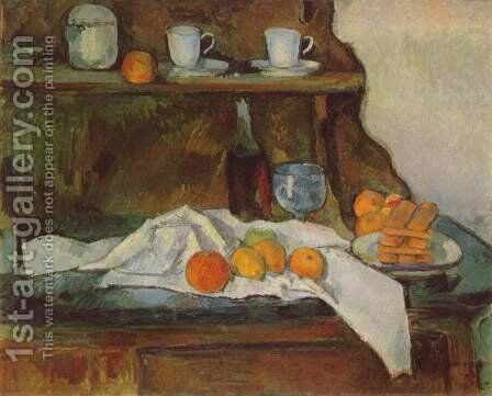 The Buffet by Paul Cezanne - Reproduction Oil Painting