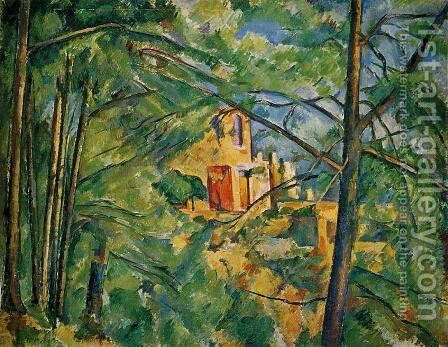 The Chateau Noir by Paul Cezanne - Reproduction Oil Painting