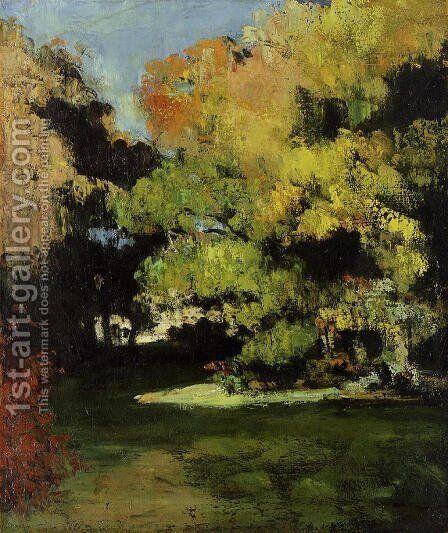 The Clearing by Paul Cezanne - Reproduction Oil Painting