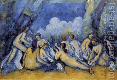 The Large Bathers3 by Paul Cezanne - Reproduction Oil Painting