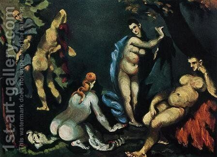 The Temptation Of Saint Anthony 3 by Paul Cezanne - Reproduction Oil Painting