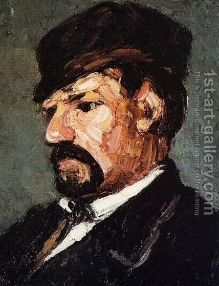 Uncle Dominique by Paul Cezanne - Reproduction Oil Painting