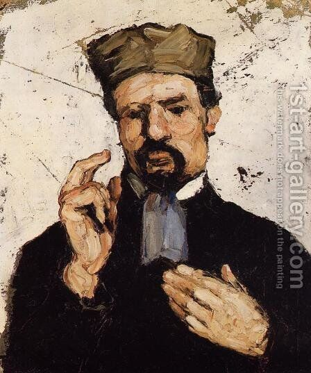 Uncle Dominique As A Lawyer by Paul Cezanne - Reproduction Oil Painting