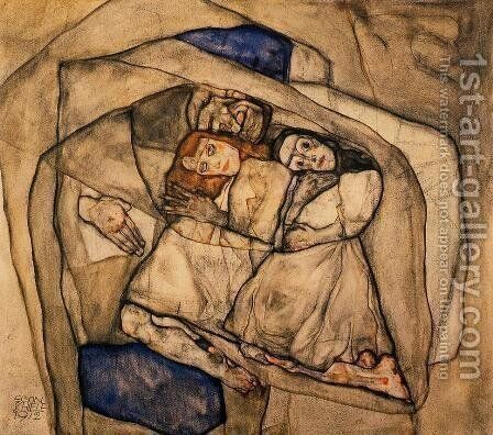 Conversion by Egon Schiele - Reproduction Oil Painting