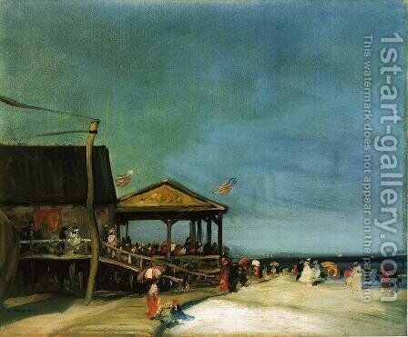 At Far Rockaway by Robert Henri - Reproduction Oil Painting