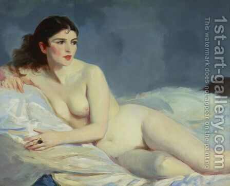 Betalo  Nude by Robert Henri - Reproduction Oil Painting