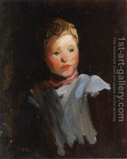 Cori by Robert Henri - Reproduction Oil Painting