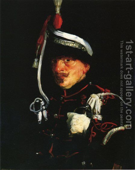 Dutch Soldier by Robert Henri - Reproduction Oil Painting