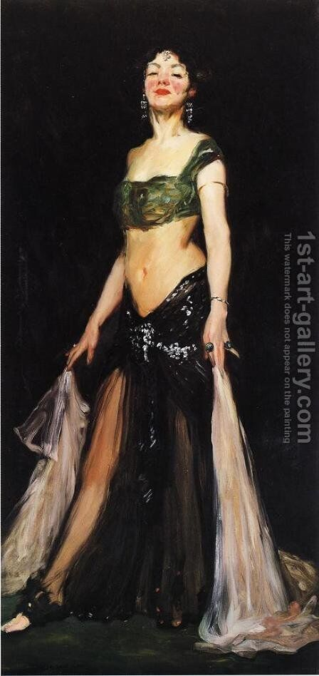 Salome2 by Robert Henri - Reproduction Oil Painting