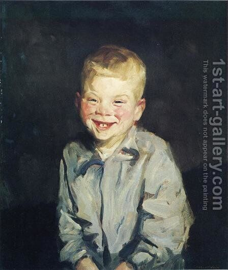 The Laughing Boy (Jobie) by Robert Henri - Reproduction Oil Painting