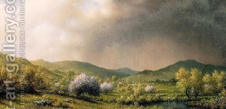 April Showers by Martin Johnson Heade - Reproduction Oil Painting