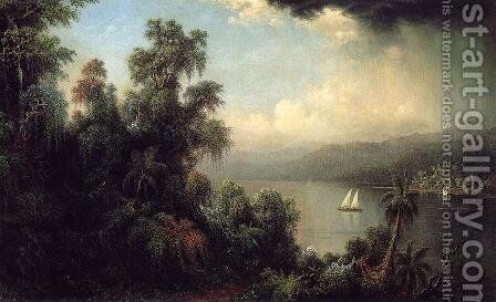 Coast Of Jamaica by Martin Johnson Heade - Reproduction Oil Painting