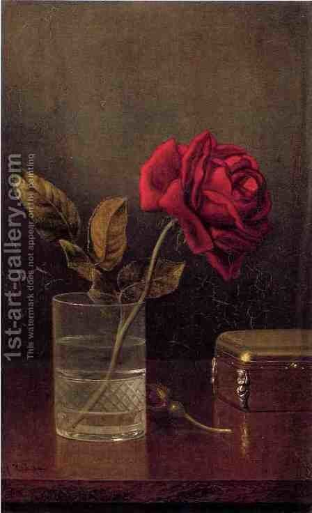 The Queen Of Roses by Martin Johnson Heade - Reproduction Oil Painting