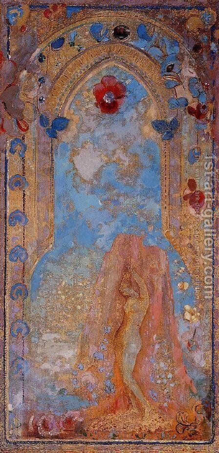 Andromeda by Odilon Redon - Reproduction Oil Painting