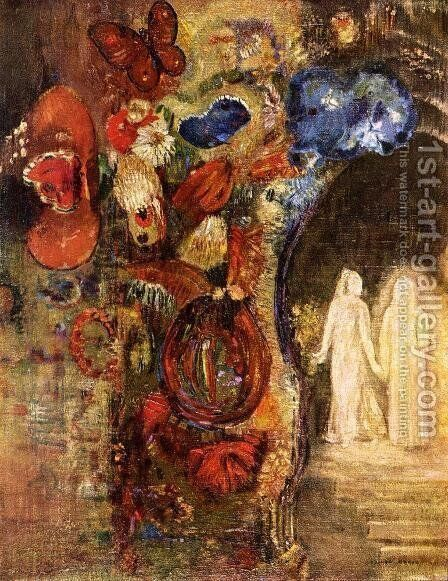 Apparition by Odilon Redon - Reproduction Oil Painting