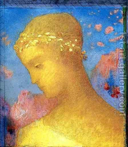 Beatrice by Odilon Redon - Reproduction Oil Painting