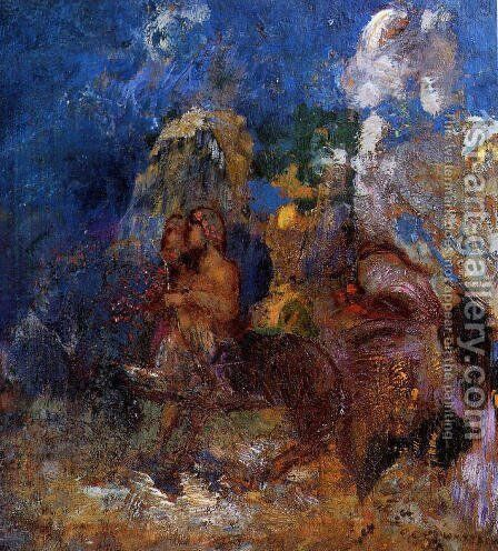 Centaurs by Odilon Redon - Reproduction Oil Painting