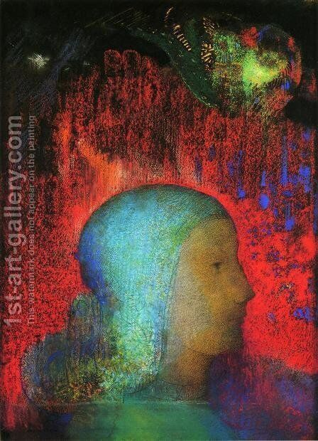 Joan Of Arc by Odilon Redon - Reproduction Oil Painting