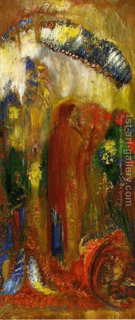 The Sermon by Odilon Redon - Reproduction Oil Painting
