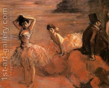 Interlude by Jean-Louis Forain - Reproduction Oil Painting