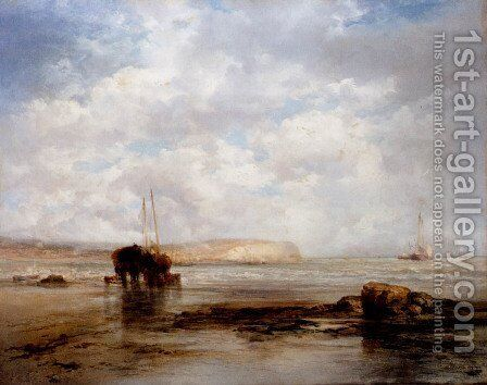 On The Coast by James Webb - Reproduction Oil Painting