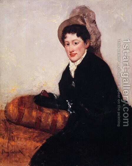 Portrait Of Madame X Dressed For The Matinee by Mary Cassatt - Reproduction Oil Painting