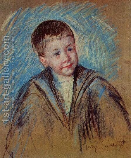 Portrait Of Master St Pierre by Mary Cassatt - Reproduction Oil Painting
