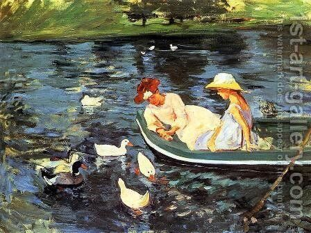 Summertime2 by Mary Cassatt - Reproduction Oil Painting