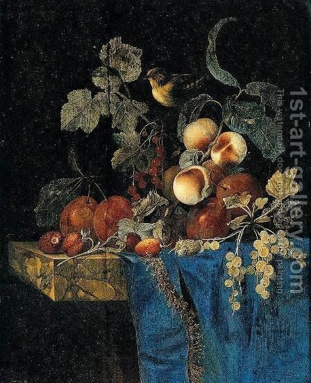 Still-Life by Willem Van Aelst - Reproduction Oil Painting