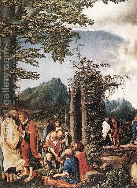 Communion of the Apostles 1516 by Albrecht Altdorfer - Reproduction Oil Painting