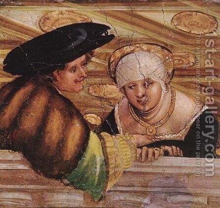 Lovers 1530 by Albrecht Altdorfer - Reproduction Oil Painting
