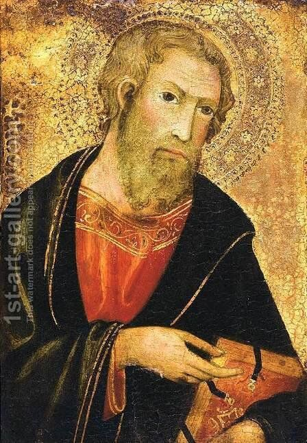 St Paul by Andrea Di Bartolo - Reproduction Oil Painting