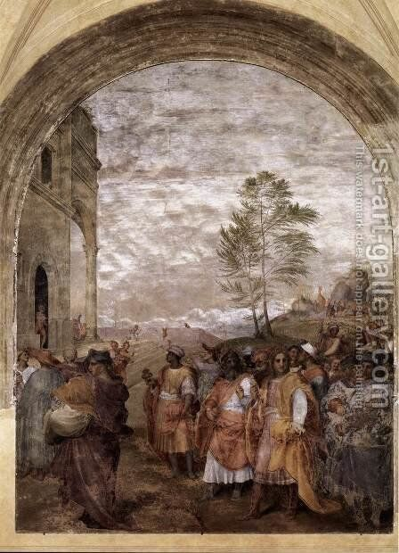 Journey of the Magi 1511 by Andrea Del Sarto - Reproduction Oil Painting
