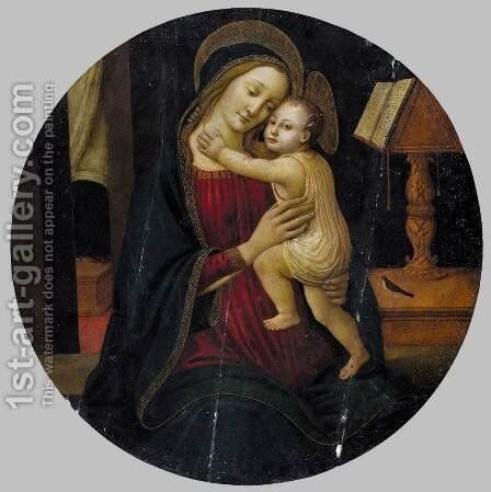 Madonna and Child by Arcangelo Di Jacopo Del Sellaio - Reproduction Oil Painting