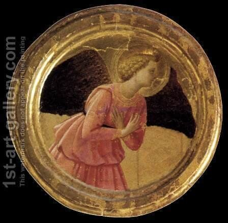Cortona Polyptych (detail 1) 1437 by Angelico Fra - Reproduction Oil Painting