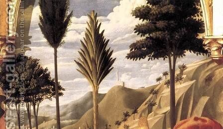 Deposition from the Cross (detail 4) 1437 by Angelico Fra - Reproduction Oil Painting