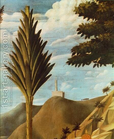 Deposition from the Cross (detail 7) 1437 by Angelico Fra - Reproduction Oil Painting