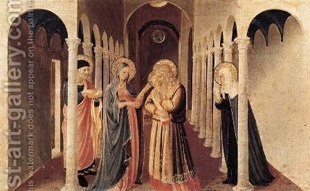 The Presentation of Christ in the Temple 1433 by Angelico Fra - Reproduction Oil Painting
