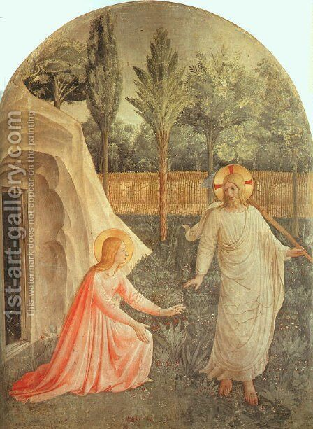 Noli Me Tangere, 1440-41 by Angelico Fra - Reproduction Oil Painting