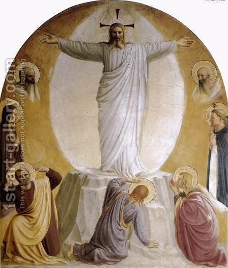 Transfiguration, 1440-41 by Angelico Fra - Reproduction Oil Painting