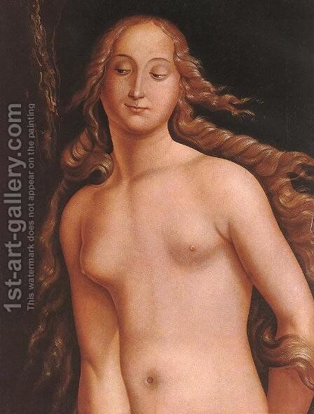 Eve (detail) 1524 by Hans Baldung  Grien - Reproduction Oil Painting
