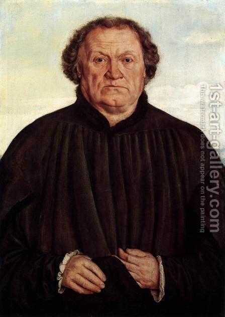 Portrait of a Man 1525-30 by Barthel Beham - Reproduction Oil Painting
