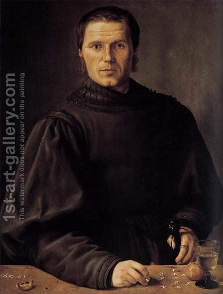 Portrait of a Man 1529 by Barthel Beham - Reproduction Oil Painting