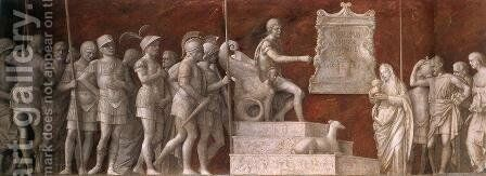 Continence of Scipio (detail 1) 1507-08 by Giovanni Bellini - Reproduction Oil Painting