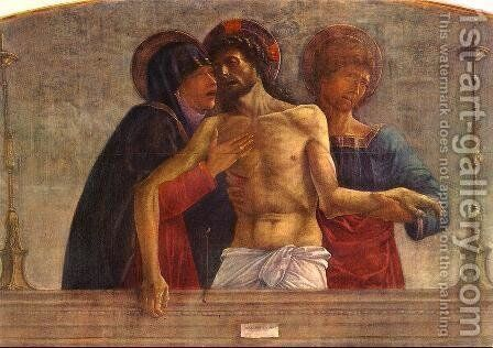 Pietà (detail) 1472 by Giovanni Bellini - Reproduction Oil Painting