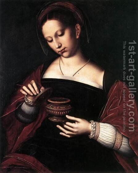 Mary Magdalene by Ambrosius Benson - Reproduction Oil Painting