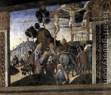 Arrest of Christ 1482 by Biagio D'Antonio - Reproduction Oil Painting