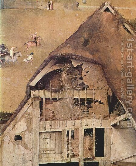 Adoration of the Magi (detail 3) c. 1510 by Hieronymous Bosch - Reproduction Oil Painting