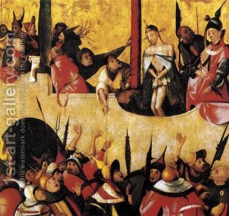 Ecce Homo 1490s by Hieronymous Bosch - Reproduction Oil Painting