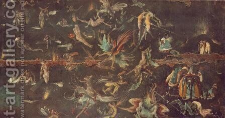 Last Judgement (fragment) 1506-08 by Hieronymous Bosch - Reproduction Oil Painting